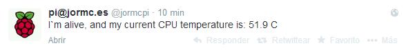 Test de temperatura
