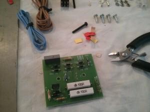 Montaje de los componentes