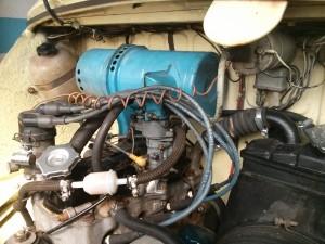 El motor de i SEAT 600 L Especial Extras